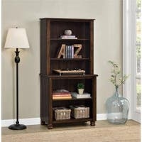 Ameriwood Home San Antonio Wood Veneer Bookcase (Espresso)