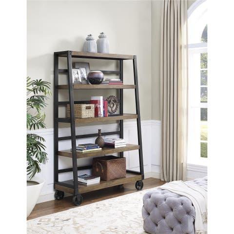 Novogratz Southampton Wood Veneer Bookcase