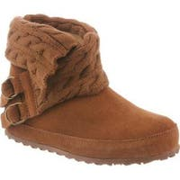 Women's Bearpaw Alison Pull On Boot Hickory II Cow Suede