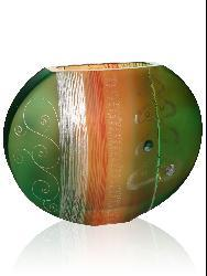 Holiday Abstract Tree Vase
