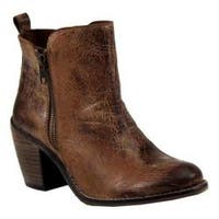Women's Diba True Java Time Ankle Boot Tan Leather