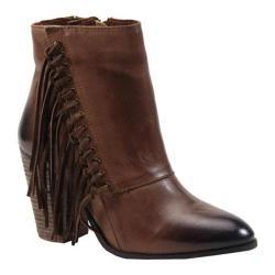 Women's Diba True Jilly Ann Ankle Boot Cognac Leather