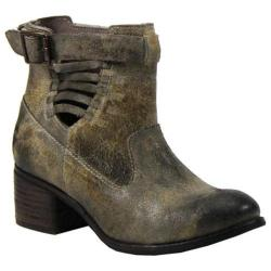 Women's Diba True Winding Road Ankle Boot Off White Leather