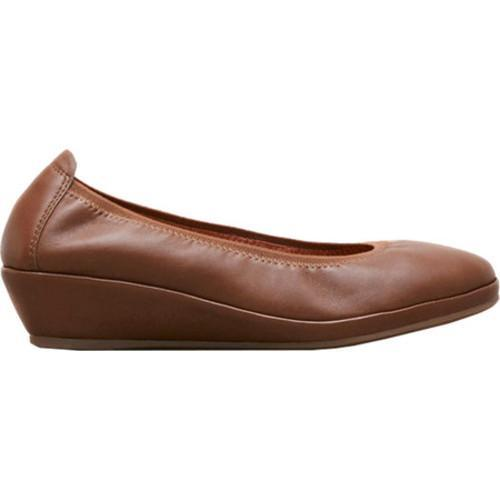 e7ceb92d9af Shop Women s Gentle Souls Natalie Demi Wedge Medium Brown Leather - Free  Shipping Today - Overstock.com - 13064876