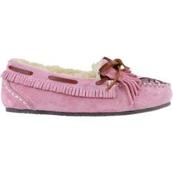 Girls' Lamo Rylee Moccasin Slipper Pink