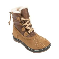 Women's White Mountain Emory Snow Boot Chestnut Multi Suede
