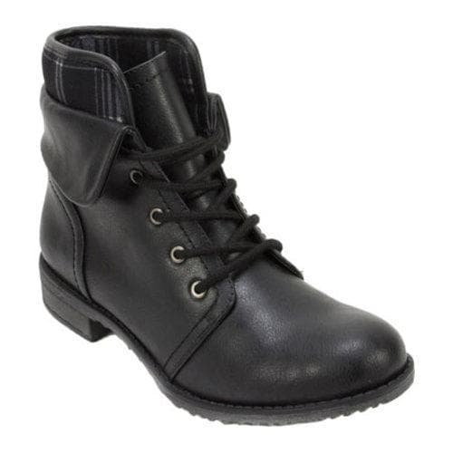 Cliffs by White Mountain Nadelle Ankle Cuffed Combat Boot (Women's) sZL6tR