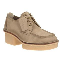 Women's Clarks Veldta Auberon Lace Up Shoe Sand Nubuck | Shopping The Best Deals on Heels