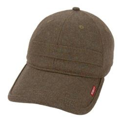 Men's A Kurtz Wool Baseball Cap Military Brown
