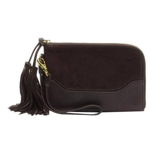 Shop Women s Frye Paige Wristlet Dark Brown - Free Shipping Today -  Overstock - 13109786 8a897d4bae