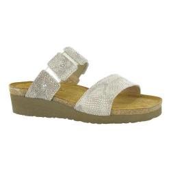 Women's Naot Ashley Beige Snake Leather