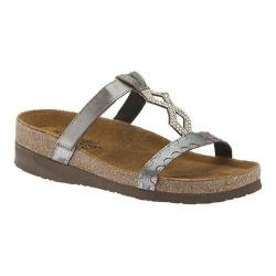 Women's Naot Aspen Silver Threads Leather/Mirror Leather