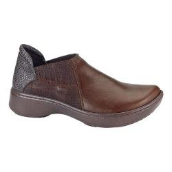 Women's Naot Bay Closed-Back Clog Toffee Brown/Mine Brown/Brown Croc Leather
