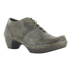 Women's Naot Besalu Oxford Grey Shimmer Leather/Vintage Grey Leather