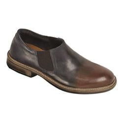 Men's Naot Director Ink Brown Leather