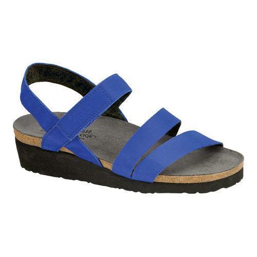 4ef13cc693ec Shop Women s Naot Kayla Sandal Royal Blue Leather - Free Shipping Today -  Overstock.com - 13130767