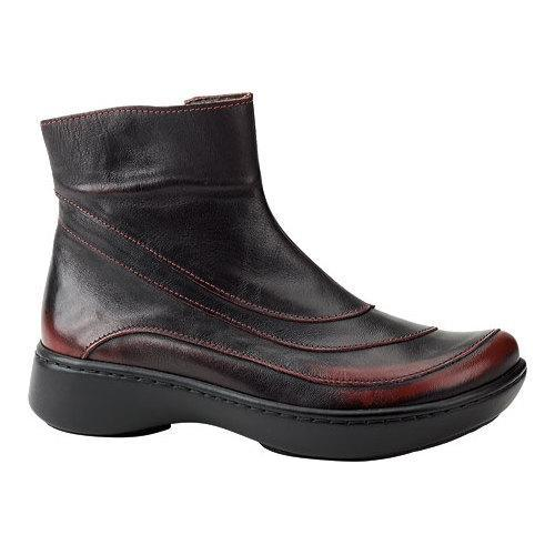 3604afb6ac6a Shop Women s Naot Tellin Volcanic Red Leather - Free Shipping Today -  Overstock - 13130956