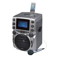"DOK GQ743 CDG Karaoke Machine with 4.3"" Color TFT Screen with Bluetoo"
