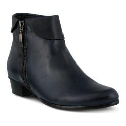 Women's Spring Step Stockholm Navy Leather