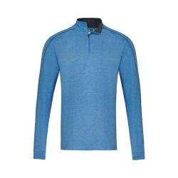 Men's tasc Performance Core 1/4-Zip Blue Heather/Gunmetal