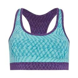 Women's tasc Performance Endurance Sport Bra Oh My Dash Monsoon/Plumberry