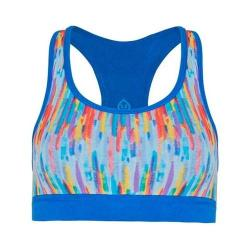 Women's tasc Performance Endurance Sport Bra Rainbow Rain/Dory Blue