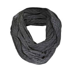 Women's tasc Performance Infinity Scarf Oh My Dash Gunmetal