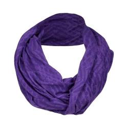 Women's tasc Performance Infinity Scarf Oh My Dash Plumberry