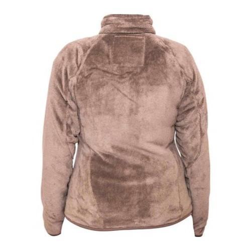 Women's Bearpaw Omaha Fleece Jacket Taupe - Thumbnail 1
