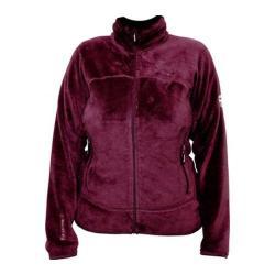 Women's Bearpaw Omaha Fleece Jacket Bordeaux