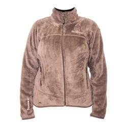 Women's Bearpaw Omaha Fleece Jacket Taupe - Thumbnail 0