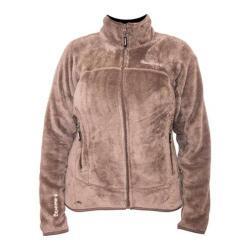 Women's Bearpaw Omaha Fleece Jacket Taupe