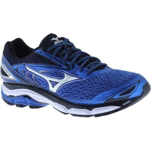 3a63ab497440 Shop Men's Mizuno Wave Inspire 13 Strong Blue/Silver/Black - Free ...