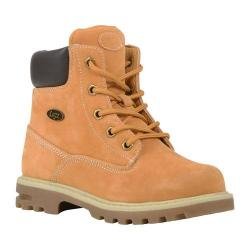 Children's Lugz Empire HI WR Work Boot Youth Golden Wheat/Bark/Cream/Gum Thermabuck