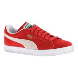 Women's PUMA Suede Classic+ Sneaker High Risk Red/White