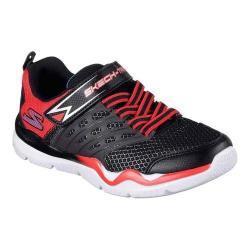 Boys' Skechers Skech-Train Sneaker Black/Red