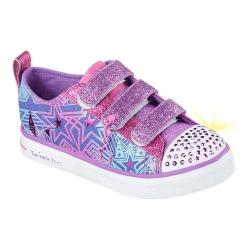 Girls' Skechers Twinkle Toes Twinkle Breeze Comet Cutie Sneaker Denim/Multi