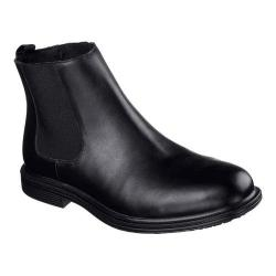 Men's Skechers Work Relaxed Fit Gretna Chambliss SR Chelsea Boot Black