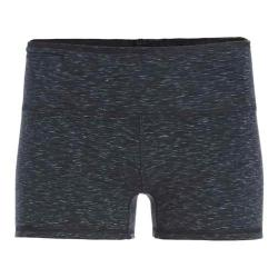 Women's tasc Performance Move Your Booty Reversible 3in Short Black/Granite Heather