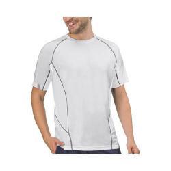 Men's Fila Core Color Blocked Crew White/White