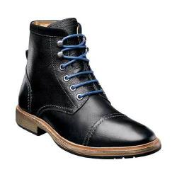 Men's Florsheim Indie Cap Boot Black Milled Leather