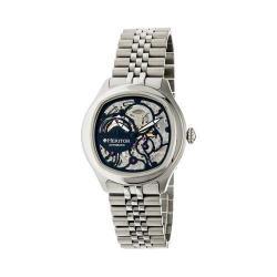 Men's Heritor Automatic HR3702 Odysseus Watch Silver Stainless Steel/Black/Black