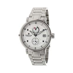Men's Heritor Automatic HR4701 Leopold Watch Silver Stainless Steel/Silver/Black