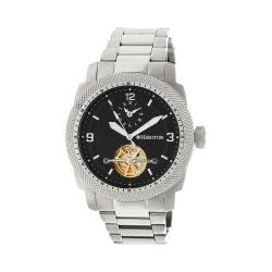 Men's Heritor Automatic HR5002 Helmsley Watch Silver Stainless Steel/Black/Silver