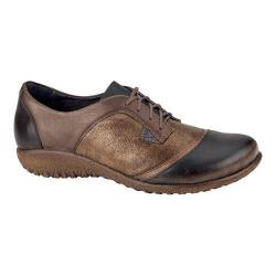 Women's Naot Harore Bronze Shimmer Suede/Brown Combo/Gold Leather