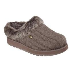 Women's Skechers BOBS Keepsakes Ice Storm Clog Slipper Taupe