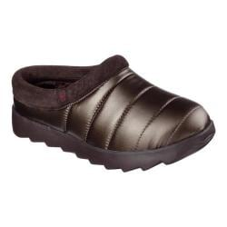 Women's Skechers BOBS Mementos Cuddlebug Clog Slipper Bronze