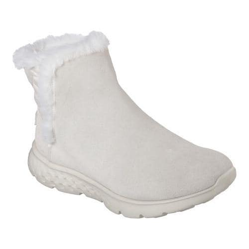 2d0ac381c4 Shop Women's Skechers On the GO 400 Cozies Ankle Boot White - Free Shipping  Today - Overstock.com - 13165844