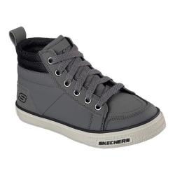 Boys' Skechers Brixor High Top Sneaker Charcoal