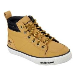 Boys' Skechers Brixor High Top Sneaker Wheat